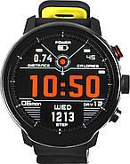 Умные часы Blaze Light со спортивными режимами и влагозащитой (Черно-желтый), фото 2
