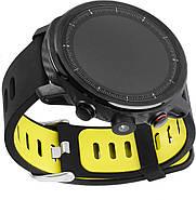 Умные часы Blaze Light со спортивными режимами и влагозащитой (Черно-желтый), фото 4