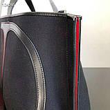 Сумка шоппер от Валентино натуральный текстиль и натуральная кожа, фото 8