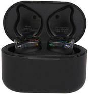 Беспроводные Bluetooth наушники Sabbat X12 с чехлом для зарядки 750 мАч (Черно-синий), фото 3