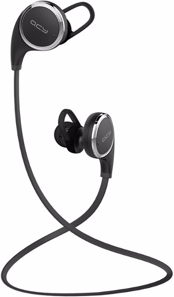 Беспроводные Bluetooth наушники QCY QY8 с поддержкой aptX (Черный)