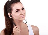 Беспроводные Bluetooth наушники QCY QY12 с магнитными вкладышами (Черный), фото 5