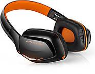 Беспроводные Bluetooth наушники Kotion EACH B3506 со складной конструкцией (Черно-оранжевый), фото 3
