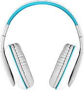 Беспроводные Bluetooth наушники Kotion EACH B3506 со складной конструкцией (Бело-голубой), фото 3