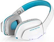 Беспроводные Bluetooth наушники Kotion EACH B3506 со складной конструкцией (Бело-голубой), фото 6
