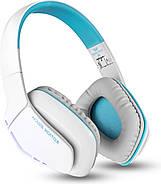Беспроводные Bluetooth наушники Kotion EACH B3506 со складной конструкцией (Бело-голубой), фото 7
