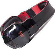 Беспроводные Bluetooth наушники Kotion Each B3505 с автономностью до 10 часов (Черно-красный), фото 2