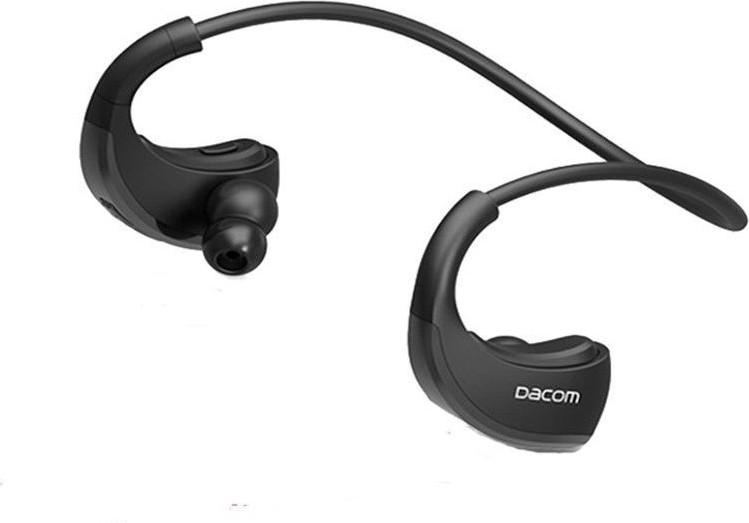 Беспроводные Bluetooth наушники Dacom Armor G06 с затылочной дужкой (Черный)