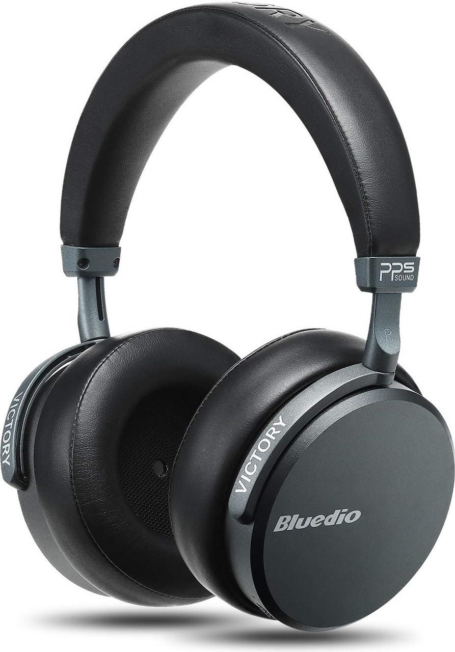 Беспроводные Bluetooth наушники Bluedio V2 с 12 динамиками (Черный)