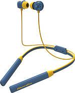 Беспроводные Bluetooth наушники Bluedio TN2 с шейным ободом и активным шумодавом (Синий), фото 3