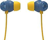 Беспроводные Bluetooth наушники Bluedio TN2 с шейным ободом и активным шумодавом (Синий), фото 4
