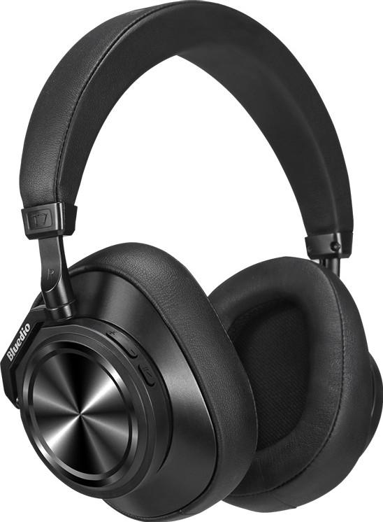 Беспроводные Bluetooth наушники Bluedio T7 с активным шумоподавлением (Черный)