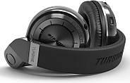 Беспроводные Bluetooth наушники Bluedio T2 Plus со встроенным радио (Черный), фото 2