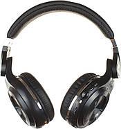 Беспроводные Bluetooth наушники Bluedio T2 Plus со встроенным радио (Черный), фото 4