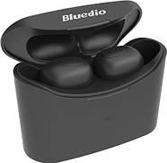 Беспроводные Bluetooth наушники Bluedio T Elf с зарядным кейсом (Черный), фото 2