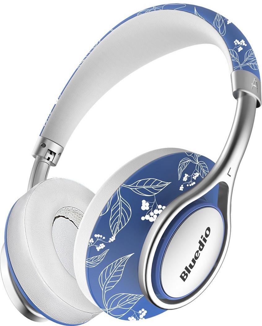 Беспроводные Bluetooth наушники Bluedio A2 со складным корпусом (Синий)