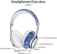 Беспроводные Bluetooth наушники Bluedio A2 со складным корпусом (Синий), фото 3