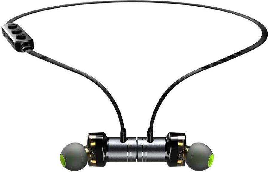 Беспроводные Bluetooth наушники Awei X670BL с двойными динамиками (Черный)