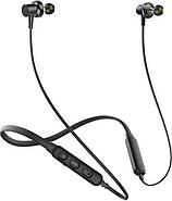 Беспроводные Bluetooth наушники Awei G20BL с двойными динамиками (Черный), фото 2
