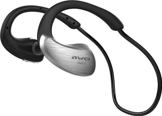 Беспроводные Bluetooth наушники Awei A885BL с поддержкой aptX (Серебристый)