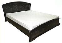 Кровать Эмилия полуторная с ортопедическими ламелями
