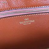 Сумка жеснкая от Валентино кожаная реплика, фото 9