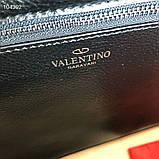 Сумка жеснкая от Валентино кожаная реплика, фото 7