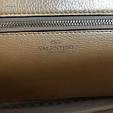 Сумка жеснкая від Валентино шкіряна репліка, фото 6