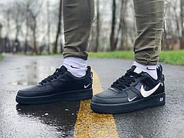 Кроссовки натуральная кожа Nike Air Force Найк Аир Форс (41,42,43,45)