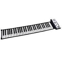 Гибкое цифровое пианино синтезатор клавиатура MIDI 128 ритмов, 61 клавиша