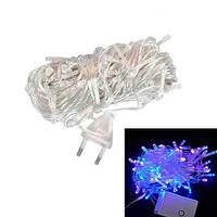 Гирлянда светодиодная новогодняя цветная 160 LED 12м