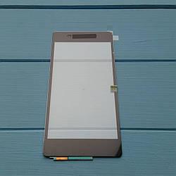 Сенсорный экран для Sony D6502 Xperia Z2, D6503 Xperia Z2 Black