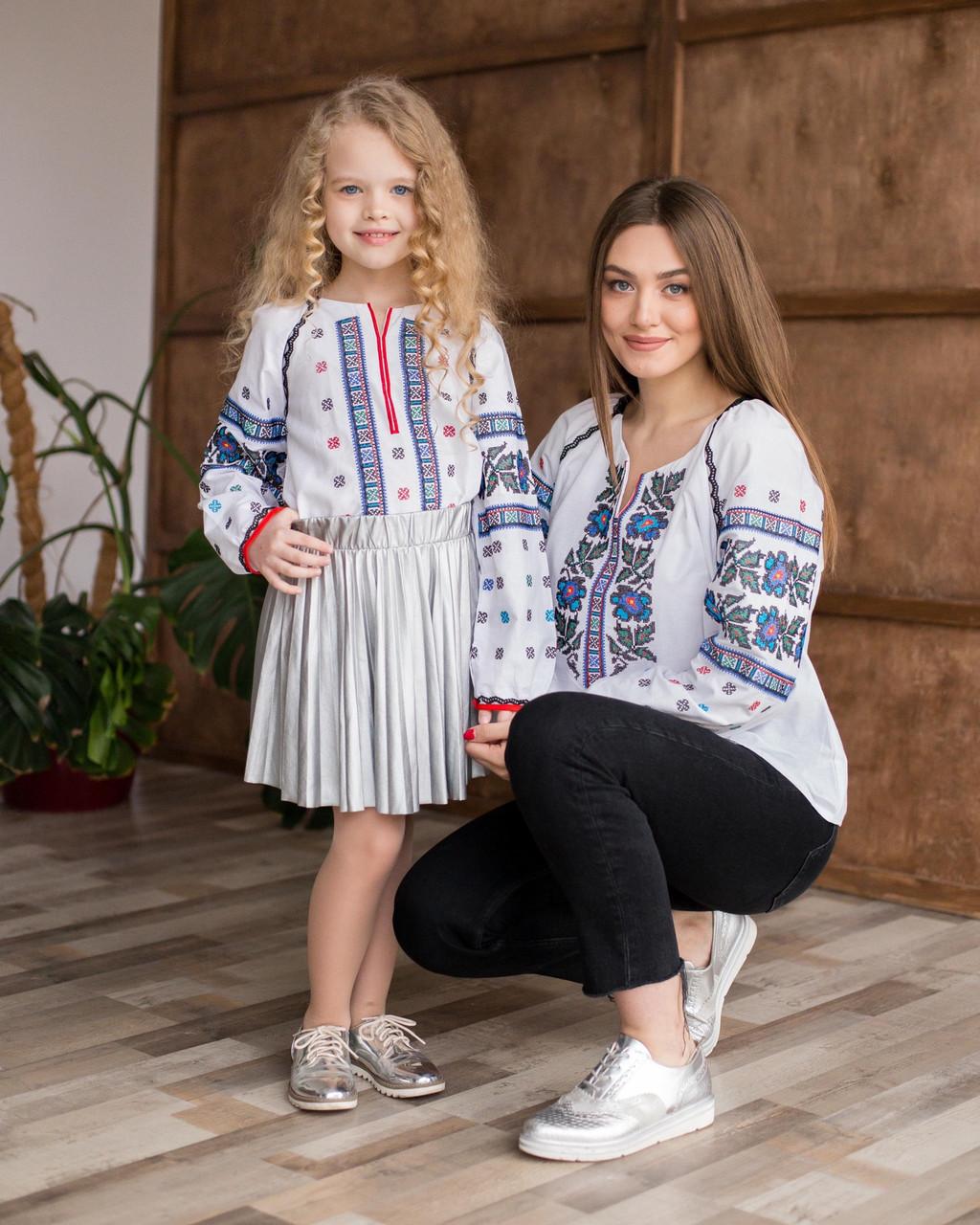 Комплект для мамы и дочки Борщеговка