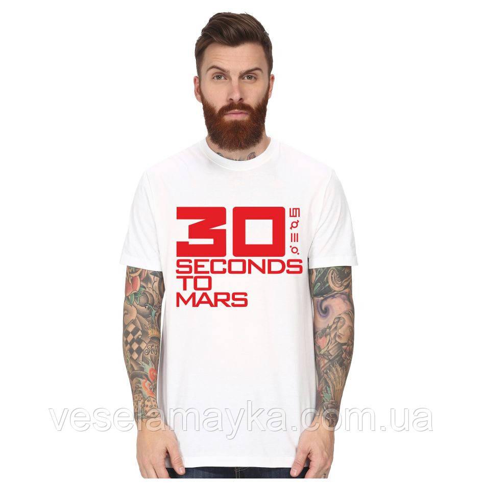 """Футболка """"30 second to Mars"""""""