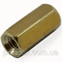Стійка металева гайка/гайка М2,5х10