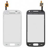 Touchscreen (сенсорный экран) для Samsung Galaxy Ace 2 i8160 la fleur, оригинал (белый)
