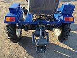 Мототрактор Forte T-161-GT-BLUE-LUX, фото 5