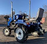 Мототрактор Forte T-161-GT-BLUE-LUX, фото 4