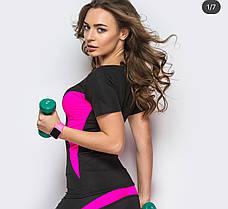 Спортивная футболка для фитнеса батал большой размер, фото 3