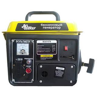 Генератор бензиновый Кентавр КБГ078 (0,8 кВт)