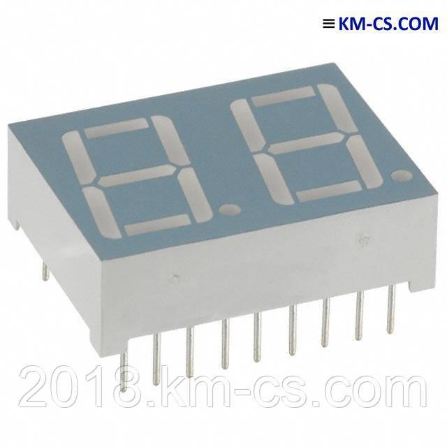 Индикатор светодиодный 7-сегментный DA56-11GWA (Kingbright)