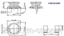 Индуктивность SMD L-1010 4.7uH//B82464G4472M (Epcos)