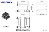 Индуктивность SMD L-1210 330uH //LQH32CN331K23L (Murata Electronics)