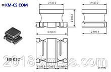 Индуктивность SMD L-1210 4.7uH 20% // LQH32CN4R7M23L (Murata Electronics)