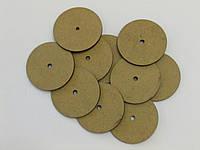Диски оргалит(мдф),  упаковка 10 шт.  d 40 мм. Толщина 3мм.