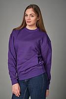 Толстовка унисекс JHK SWEATSHIRT UNISEX цвет фиолетовый (PU), фото 2