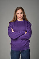 Толстовка унисекс JHK SWEATSHIRT UNISEX цвет фиолетовый (PU), фото 3