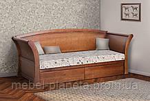"""Кровать односпальная детская с ящиками """"Адриатика"""" Микс Мебель, кровать детская деревянная"""