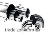 Кожух из оцинкованной стали для труб Tradeizol (отвод, 140мм), фото 1