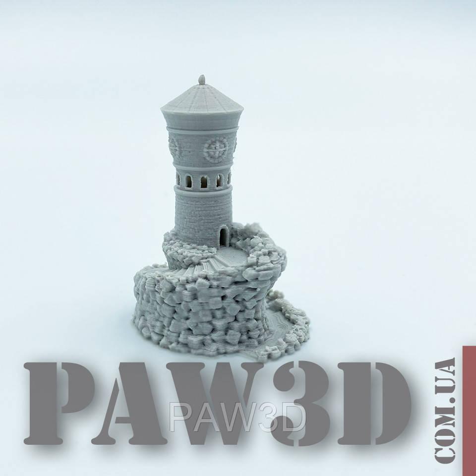Башня миниатюра, декоративные элементы